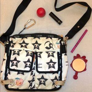 Used Tokidoki LeSportsac Adios Bag Purse CrossBody